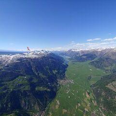 Flugwegposition um 15:19:15: Aufgenommen in der Nähe von 39024 Mals, Südtirol, Italien in 2711 Meter