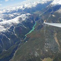 Flugwegposition um 13:11:47: Aufgenommen in der Nähe von Bezirk Inn, Schweiz in 3540 Meter
