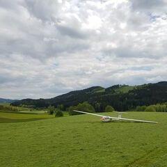 Verortung via Georeferenzierung der Kamera: Aufgenommen in der Nähe von St. Stefan-Afiesl, Österreich in 600 Meter