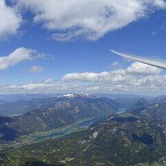 Flugwegposition um 12:24:59: Aufgenommen in der Nähe von Gemeinde Kirchbach, Österreich in 2878 Meter