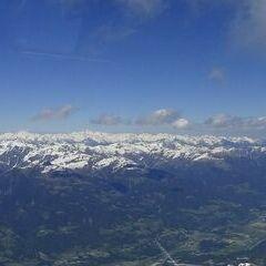 Flugwegposition um 12:39:00: Aufgenommen in der Nähe von Gemeinde Oberdrauburg, 9781, Österreich in 2836 Meter