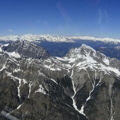 Flugwegposition um 12:53:55: Aufgenommen in der Nähe von Gemeinde Lesachtal, Österreich in 2779 Meter