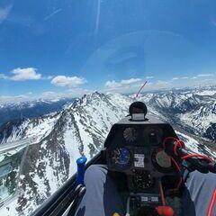 Flugwegposition um 10:47:41: Aufgenommen in der Nähe von Rottenmann, Österreich in 2311 Meter