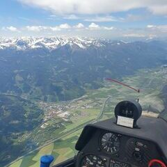 Flugwegposition um 10:37:52: Aufgenommen in der Nähe von Gaishorn am See, Österreich in 2344 Meter