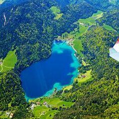 Flugwegposition um 10:54:52: Aufgenommen in der Nähe von Gemeinde Scheffau am Wilden Kaiser, Österreich in 2456 Meter