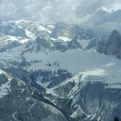 Flugwegposition um 14:15:32: Aufgenommen in der Nähe von 39034 Toblach, Südtirol, Italien in 2968 Meter
