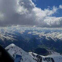 Verortung via Georeferenzierung der Kamera: Aufgenommen in der Nähe von Bezirk Surselva, Schweiz in 3600 Meter