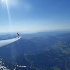 Verortung via Georeferenzierung der Kamera: Aufgenommen in der Nähe von Oberallgäu, Deutschland in 2700 Meter