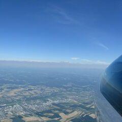 Flugwegposition um 13:35:41: Aufgenommen in der Nähe von Gemeinde Gerersdorf, 3385 Gerersdorf, Österreich in 2119 Meter