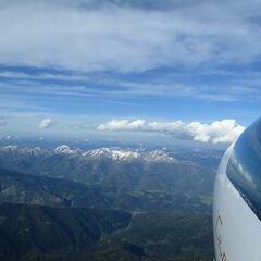 Flugwegposition um 16:08:17: Aufgenommen in der Nähe von Gemeinde Pusterwald, 8764, Österreich in 3234 Meter
