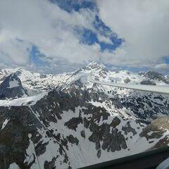 Flugwegposition um 11:11:18: Aufgenommen in der Nähe von Municipality of Bohinj, Slowenien in 2297 Meter