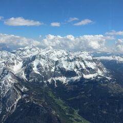 Flugwegposition um 13:29:51: Aufgenommen in der Nähe von 39030 Enneberg, Südtirol, Italien in 3523 Meter