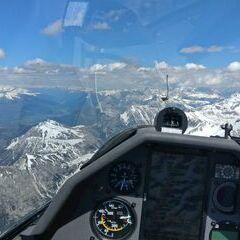 Flugwegposition um 13:29:56: Aufgenommen in der Nähe von 39030 Enneberg, Südtirol, Italien in 3511 Meter