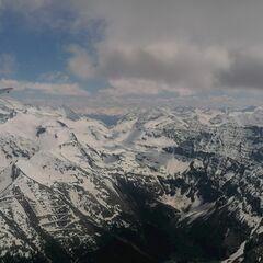 Flugwegposition um 12:20:48: Aufgenommen in der Nähe von Mittersill, Österreich in 2990 Meter