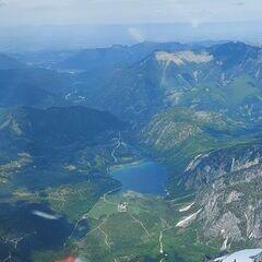 Flugwegposition um 11:25:50: Aufgenommen in der Nähe von Gemeinde Grundlsee, 8993, Österreich in 2376 Meter