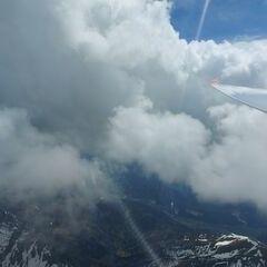 Flugwegposition um 12:14:22: Aufgenommen in der Nähe von Johnsbach, 8912 Johnsbach, Österreich in 2873 Meter