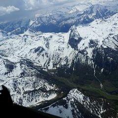 Verortung via Georeferenzierung der Kamera: Aufgenommen in der Nähe von Gemeinde Flachau, Österreich in 3200 Meter
