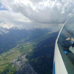 Verortung via Georeferenzierung der Kamera: Aufgenommen in der Nähe von Gemeinde Zell am See, 5700 Zell am See, Österreich in 3300 Meter