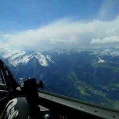 Verortung via Georeferenzierung der Kamera: Aufgenommen in der Nähe von Gemeinde Mayrhofen, Österreich in 3300 Meter