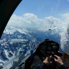 Verortung via Georeferenzierung der Kamera: Aufgenommen in der Nähe von Gemeinde Mayrhofen, Österreich in 3200 Meter