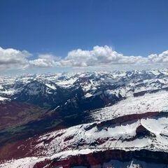 Verortung via Georeferenzierung der Kamera: Aufgenommen in der Nähe von Oberallgäu, Deutschland in 2800 Meter