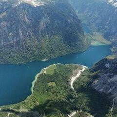 Verortung via Georeferenzierung der Kamera: Aufgenommen in der Nähe von Berchtesgadener Land, Deutschland in 2500 Meter