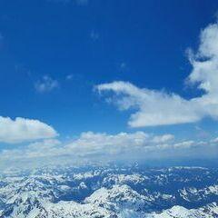Flugwegposition um 12:13:50: Aufgenommen in der Nähe von Schladming, Österreich in 3362 Meter