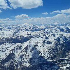 Flugwegposition um 12:17:51: Aufgenommen in der Nähe von Gemeinde Weißpriach, 5573, Österreich in 3026 Meter