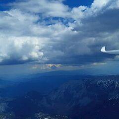 Flugwegposition um 13:45:17: Aufgenommen in der Nähe von Gemeinde Wildalpen, 8924, Österreich in 2548 Meter