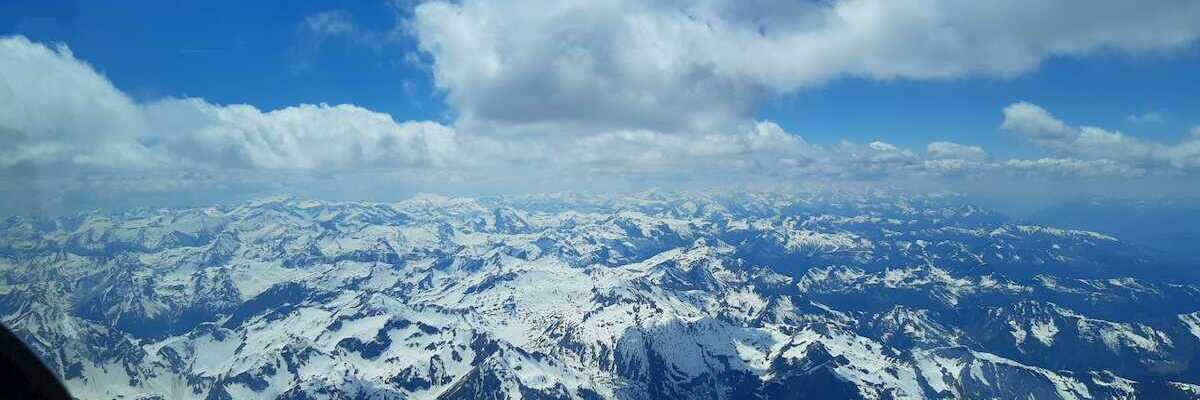 Flugwegposition um 12:10:54: Aufgenommen in der Nähe von Schladming, Österreich in 3415 Meter