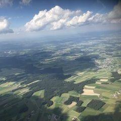 Flugwegposition um 14:58:46: Aufgenommen in der Nähe von Gemeinde Reichenau im Mühlkreis, Österreich in 2073 Meter