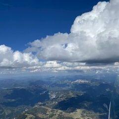 Flugwegposition um 14:19:08: Aufgenommen in der Nähe von Gußwerk, Österreich in 2667 Meter