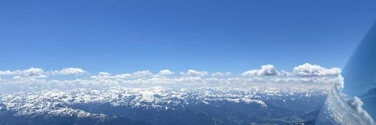 Flugwegposition um 11:32:01: Aufgenommen in der Nähe von Gemeinde Filzmoos, 5532, Österreich in 2863 Meter