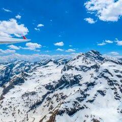 Flugwegposition um 11:30:39: Aufgenommen in der Nähe von Öblarn, 8960 Öblarn, Österreich in 2740 Meter