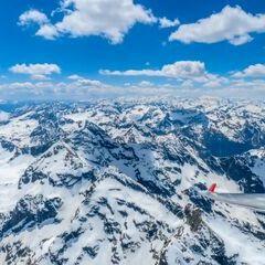 Flugwegposition um 11:35:39: Aufgenommen in der Nähe von Großsölk, 8961, Österreich in 2850 Meter