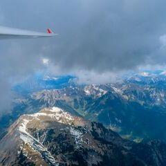 Flugwegposition um 14:04:47: Aufgenommen in der Nähe von Gemeinde Wald am Schoberpaß, 8781, Österreich in 3063 Meter