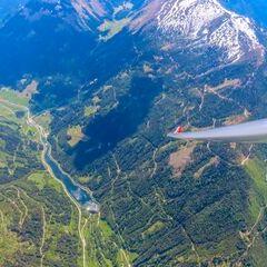 Flugwegposition um 11:23:30: Aufgenommen in der Nähe von Donnersbach, Österreich in 2333 Meter