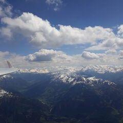 Flugwegposition um 13:11:28: Aufgenommen in der Nähe von Gemeinde Goldegg, Goldegg, Österreich in 3063 Meter