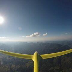 Verortung via Georeferenzierung der Kamera: Aufgenommen in der Nähe von Gemeinde Edlbach, Österreich in 2600 Meter