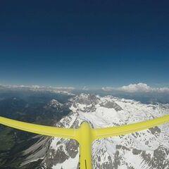 Verortung via Georeferenzierung der Kamera: Aufgenommen in der Nähe von Gemeinde Ramsau am Dachstein, 8972, Österreich in 3400 Meter