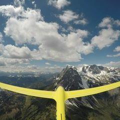 Verortung via Georeferenzierung der Kamera: Aufgenommen in der Nähe von Gemeinde Werfen, Österreich in 2400 Meter