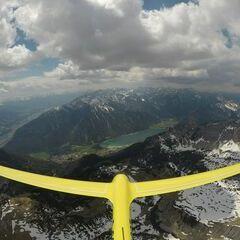Verortung via Georeferenzierung der Kamera: Aufgenommen in der Nähe von Gemeinde Eben am Achensee, Österreich in 2600 Meter