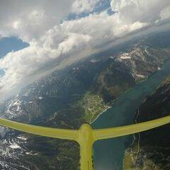 Verortung via Georeferenzierung der Kamera: Aufgenommen in der Nähe von Gemeinde Eben am Achensee, Österreich in 2800 Meter