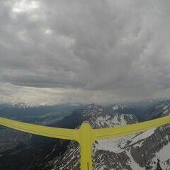 Verortung via Georeferenzierung der Kamera: Aufgenommen in der Nähe von Gemeinde Absam, Absam, Österreich in 2900 Meter