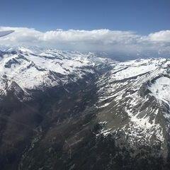 Flugwegposition um 13:29:21: Aufgenommen in der Nähe von Gemeinde Malta, Österreich in 3306 Meter
