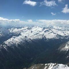 Flugwegposition um 13:35:03: Aufgenommen in der Nähe von Gemeinde Malta, Österreich in 3488 Meter