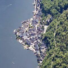 Flugwegposition um 12:22:16: Aufgenommen in der Nähe von Gemeinde Hallstatt, Hallstatt, Österreich in 2678 Meter