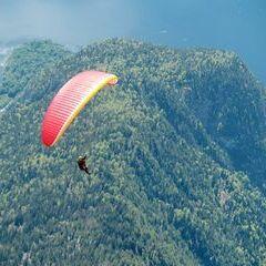 Flugwegposition um 12:21:00: Aufgenommen in der Nähe von Gemeinde Bad Aussee, 8990 Bad Aussee, Österreich in 2745 Meter