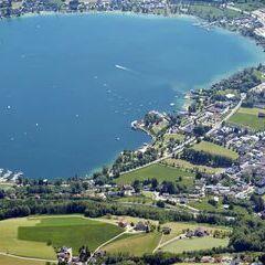 Flugwegposition um 13:18:42: Aufgenommen in der Nähe von Gemeinde Tiefgraben, Österreich in 2064 Meter