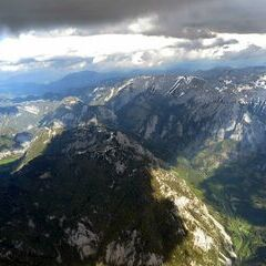 Flugwegposition um 14:47:30: Aufgenommen in der Nähe von Gemeinde Wildalpen, 8924, Österreich in 2941 Meter